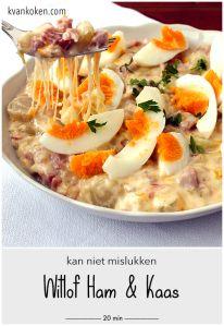 Witlof ham & kaas (kan niet mislukken) – De K van Koken
