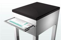 Fini les #imprimantes aux courbes disgracieuses ! La #Printer #table fait son entrée, l'imprimante la plus #design et la plus #moderne que vous ayez jamais vus !