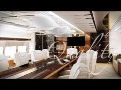 Boeing 747-8: Primer Jet Privado En El Mundo Con Interiores Equivalentes Al De Un Mega Yate [c/VÍDEO] | MEGA RICOS