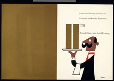 Tom Eckersley, Waiter menu