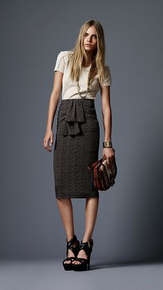 Burberry. May need skirt
