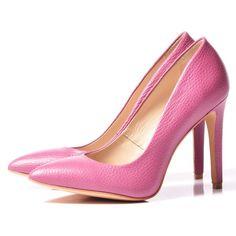 PINK Stiletto shoes - romanian designers SHOP ONLINE Stiletto Shoes, Peeps, Peep Toe, Designers, Shopping, Fashion, Moda, Fashion Styles, Fashion Illustrations