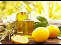 Como Hacer Aceite Anticelulitico Reductor y Reafirmante. = macerado de pieles de 3 limones cortados en trozos, en aceite de girasol por 15 dias.