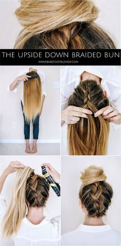 signed by tina: Braided Bun....Tutorial