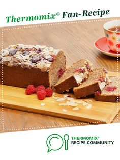 Recipe Banana, raspberry and coconut loaf by Anna Gare, learn to make this recipe easily in your kitchen machine and discover other Thermomix recipes in Baking - sweet. Coconut Desserts, Thermomix Desserts, No Bake Desserts, Thermomix Bread, Swedish Recipes, Sweet Recipes, Snack Recipes, Snacks, Cake Recipes