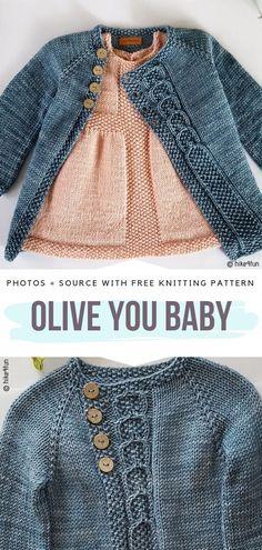 Elegant Toddler Cardigans Free Knitting Patterns