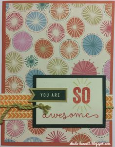 Sheila's Stamping Stuff: You're the Bomb (Operation Smile)   #ctmh #ctmhcreate #cardmaking #operationsmile