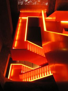 The staircase by architect Rem Koolhaas
