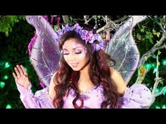 Fairy Princess Makeup! and Costuming, good videos in here