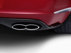Exhaust detail of the Continental GT V8 S