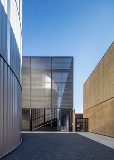 ZGF Architects. Stanford University power plant. Photograph by Tim Griffith.