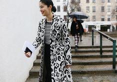Caroline Issa in an Altuzarra coat
