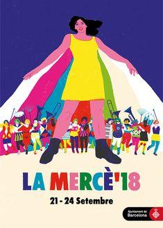 70 Barcelona La Mercè Poster Collection Ideas Popular Culture Barcelona Cultural Activities
