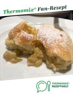 Rhabarber-Auflauf von JennyR. Ein Thermomix ® Rezept aus der Kategorie Backen süß auf www.rezeptwelt.de, der Thermomix ® Community.