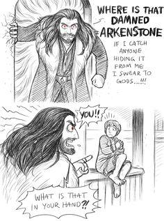 Bilbo is super cute (1/2)