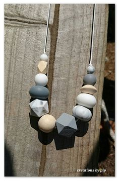 Check out this item in my Etsy shop https://www.etsy.com/au/listing/482051906/grey-white-black-silicone-and-natural