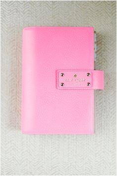 kate spade planner organizer pink organized_001