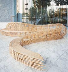 tokyo design week 08: frank gehry tokyo bench at design tide