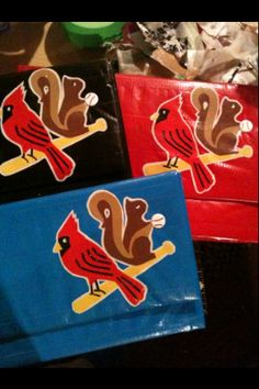Cards Rally Squirrel