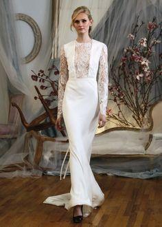 Chic Long Sleeved Wedding Dress Julia from Elizabeth Fillmore