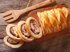 Xmas Food, Dried Fruit, Bread Recipes, Tapas, Sausage, Sandwiches, Thanksgiving, Menu, Sweet