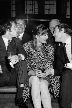 Vanessa Redgrave with Franco Nero and Richard Harris