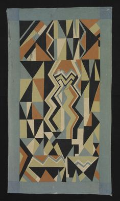 "Coverlet, ""Electric"" Pattern, 1930"