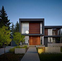 Fachadas de casas modernas, todo para diseñar una hermosa casa [Fotos]   Construye Hogar
