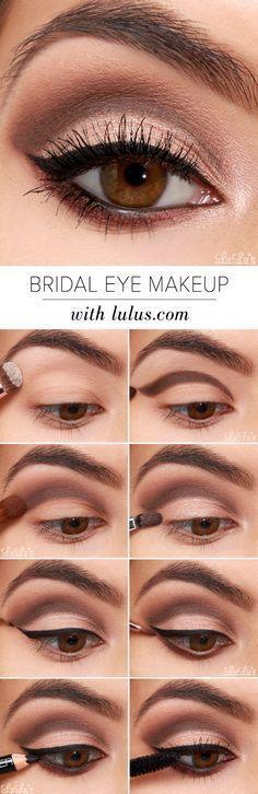LuLu*s How-To: Bridal Eye Makeup Tutorial