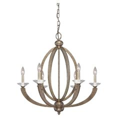 Found it at Wayfair.co.uk - Forum 6 Light Candle Chandelier