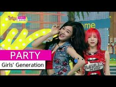 [Comeback Stage] Girls' Generation - PARTY, 소녀시대 - 파티, Show Music core 20150711 - YouTube