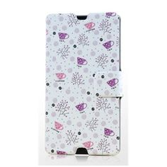 Gview Fashionable Slim Leisure Time Painting Series PU Leather Case For Sony Xperia Z