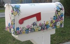Painted Mailboxes | Flower Mailbox - Santa Clara, CA - Painted Mailboxes on Waymarking.com
