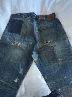 Levi's vintage clothing LVC - 501 XX Limited 1890 Spur Bites size 34/34  #Levis #ClassicStraightLeg