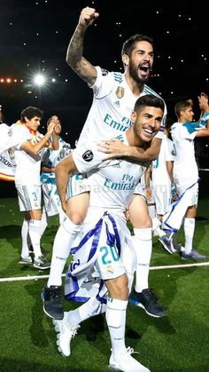 Asensio e isco Isco Real Madrid, Ramos Real Madrid, Real Madrid Club, Real Madrid Football Club, Real Madrid Players, Real Madrid Manchester United, Premier League, Real Madrid Wallpapers, Equipe Real Madrid