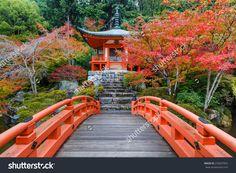 Autumn At Daigoji Temple In Kyoto, Japan Foto d'archivio 255607852 : Shutterstock