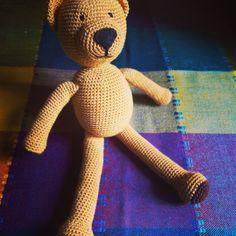 Szydełkowy miś/crochet bear made by kulkizfilcu