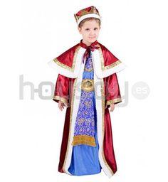 #Disfraz de Rey Mago Melchor Incluye: túnica con corona #Navidad