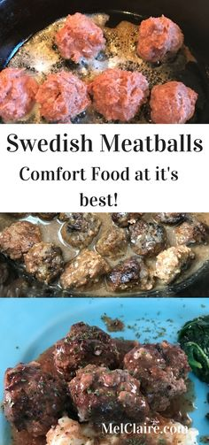 Swedish meatball recipes, Swedish meatball and Meatball recipes on ...