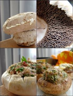 mantar dolması Turkish Recipes, Ethnic Recipes, Pasta, Iftar, Baked Potato, Appetizers, Food And Drink, Yummy Food, Cheese