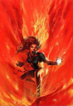 Dark Phoenix by Gabriele Dell'Otto