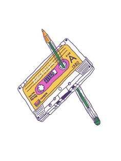 Nostalgia~i remember doing this to my cassette tapes when they would come unwound! Nostalgia Art, I Remember When, Ol Days, My Childhood Memories, My Memory, The Good Old Days, Cool T Shirts, Old School, The Past