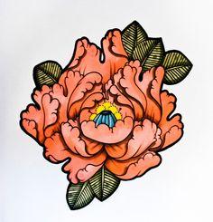 japanese flower tattoo designs - Google Search