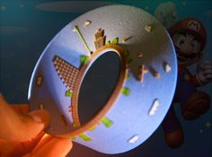Wait A Second...This Is The Same Castle I Just Passed!: First Super Mario Level 3-D Printed As A Möbius Strip   Geekologie