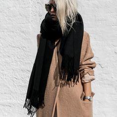 #ootd #casualstyle #AcneStudios #AcneStudiosScarf #Nike #figtny