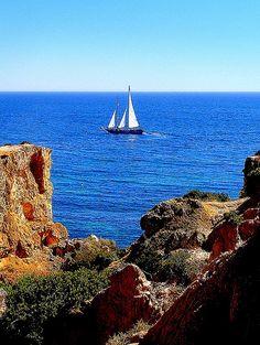 Algarve coast, Portugal - This is the California of Europe!