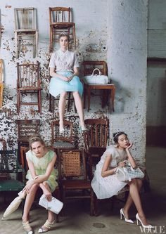 Louis Vuitton by Marc Jacobs.  Photographed by Annie Leibovitz for  #Vogue. #louisvuitton #marcjacobs