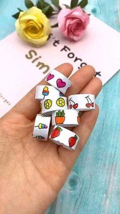 Diy Crafts Hacks, Diy Crafts For Gifts, Diy Arts And Crafts, Creative Crafts, Cool Paper Crafts, Paper Crafts Origami, Cute Crafts, Kawaii Crafts, Easy Crafts