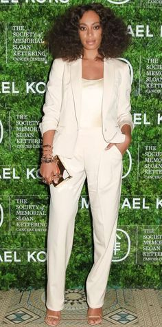 Look of the Day - May 13, 2015 - NY: The Society of Memorial Sloan Kettering and Michael Kors Host 8th Annual Spring Ball from #InStyle