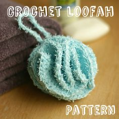 Mary Maxim Scrub It Yarn makes this crochet loofah lovely and luxurious! Avoid the awkward texture of synthetic yarns by using yarn designed for water!